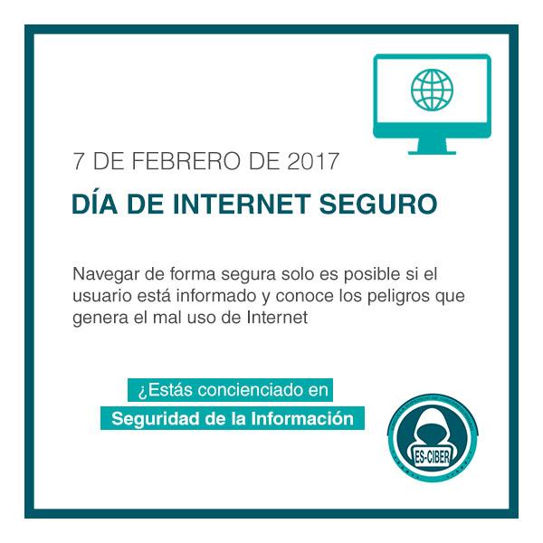 Dia de internet seguro - es-ciber